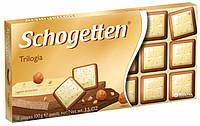 Шоколад Schogetten Trilogia (Шогеттен), 100 гр
