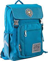 Рюкзак подростковый ортопедический ТМ 1 Вересня OX 283, бірюзовий, 28*39*14.5, фото 1