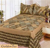 Покрывало хлопковое печворк GoldenTex JY-7244 230х250см