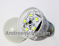 3W Е27 Экономная светодиодная лампа! LED лампа! , В наличии