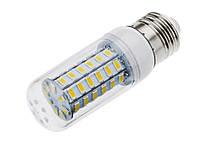 18W Е27, Е14 56LED Экономная светодиодная лампа! (белый и тёплый) LED лампа Качество!, В наличии