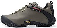Мужские кроссовки Merrell Continuum Goretex Grey (Меррел) серые