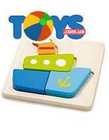 Пазл деревянный Viga Toys «Кораблик», 50171