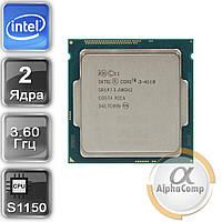 Процессор Intel Core i3 4160 (2×3.60GHz/3Mb/s1150) б/у