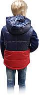 Жилетка весенняя для мальчика Cocux Kids Club красная размеры 122 128, фото 3