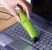 USB мини пылесос для клавиатуры, ноутбука, телефона и электроники !!!, В наличии