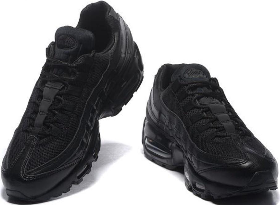 ee403360 Кроссовки женские Nike Air Max 95 Triple Black, цена 1 470 грн., купить в  Запорожье — Prom.ua (ID#453476198)
