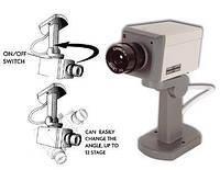 Муляж камеры видеонаблюдения (поворотный) Realistic Looking Security Camera, В наличии