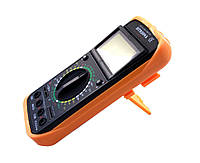 Профессиональный цифровой мультиметр тестер DT-9207А/9208А Качество! + щупы + термопара + крона!, В наличии