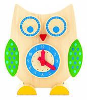 Деревянная игрушка МДИ Сова Часы и счеты (Д391)