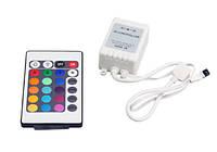 Пульт+контроллер для RGB светодиодной ленты, В наличии