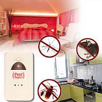 Ультразвуковой, электромагнитный отпугиватель грызунов и насекомых Pest Reject  КАЧЕСТВО!!, В наличии