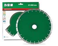 Круг алмазный Distar 1A1RSS/C3 UNI H 400 мм сегментный алмазный диск по граниту