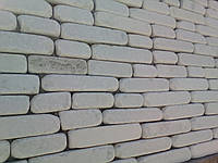 Камень окатанный из мрамора ( бежевый) турция 3хl
