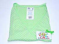 Ночная рубашка для родов и кормления 48 размер (салатовый)