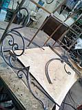 Кованый козырек над крыльцом, фото 5