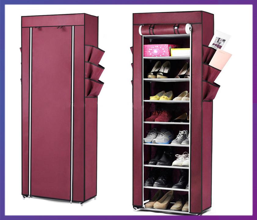 Тканевой шкаф для обуви Shoe Rack and Wardrobe YQF-1190
