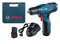 Шуруповерт аккумуляторный Bosch GSR 1080-2-LI