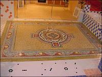 Керамическая мозаика. Растяжка из мозаики
