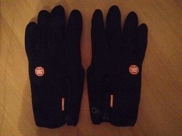 Сенсорные перчатки для вождения и спорта B-Forest Winds gloves