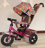 Велосипед TILLY Trike  Т-363 надувные колеса, розовый