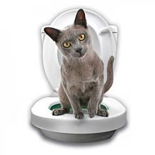 Система привчання кішок до унітазу Citi Kitty Cat Toilet Training, фото 2