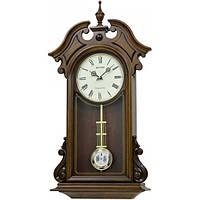 Часы настенные из дерева - классика - бой- JAPAN