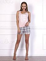 Комплект домашний, пижама красивого розового цвета 579.