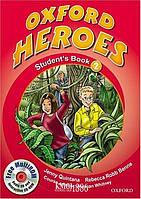 Учебник с диском Oxford Heroes 2, Jenny Quintana | Oxford