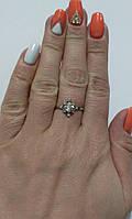 Кільце з срібла Сніжинка, фото 1