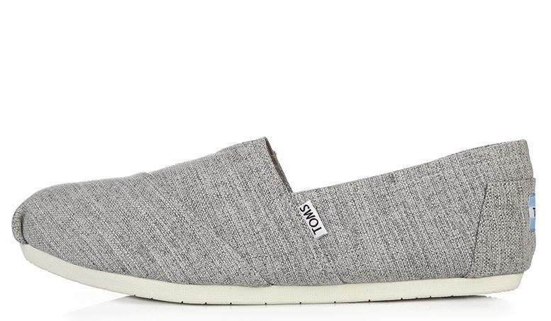 Эспадрильи мужские Toms Classic Grey