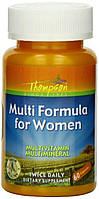 Витамины Thompson Multi Formula for Women, 60 капс