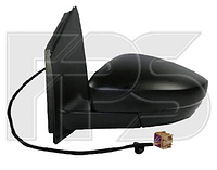 Зеркало лев. эл. с обогр. асферич. +УК. пов. -подсвет Volkswagen Polo V 2009-15 SDN