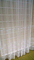 Тюль Полоска Молочная, 3 метра, фото 2