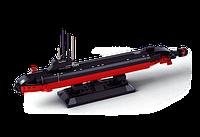 """Конструктор  """"Атомная подводная лодка"""" SLUBAN M38-B0391, 1:350, 193 детали"""