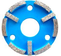 Фреза алмазная Distar ФАТ-С МШМ 8x12 №00/30 CP45H для шлифовки бетонных и мозаичных полов, Дистар Украина