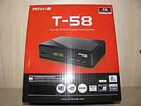 AMIKO T58 цифровой эфирный DVB-T2 ресивер