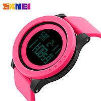 Водонепроницаемые часы Skmei ultra 1142 (Розовые) - спортивные, ударостойкие
