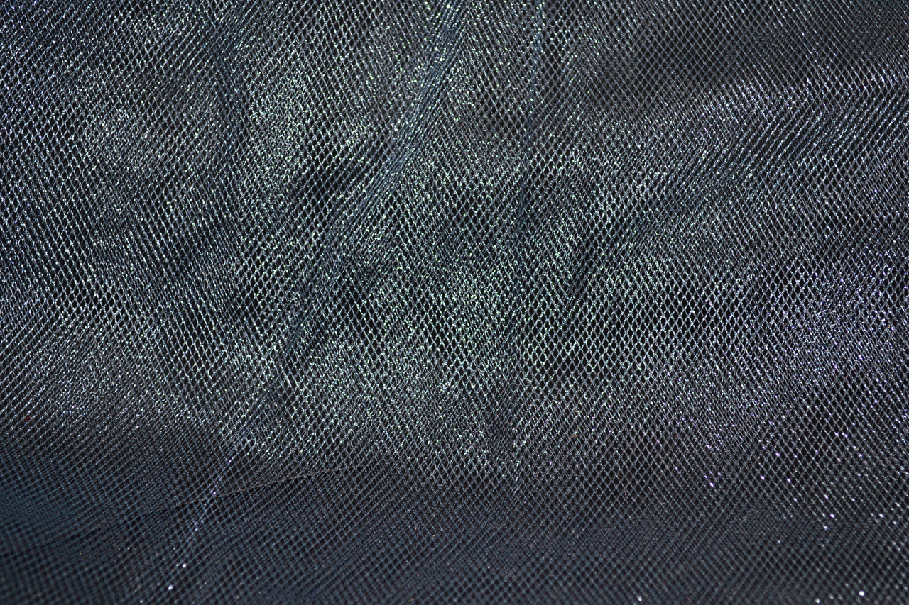 Фатин темно серый