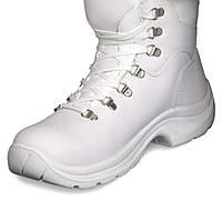 Спецобувь ботинки белые модель 01001/1C