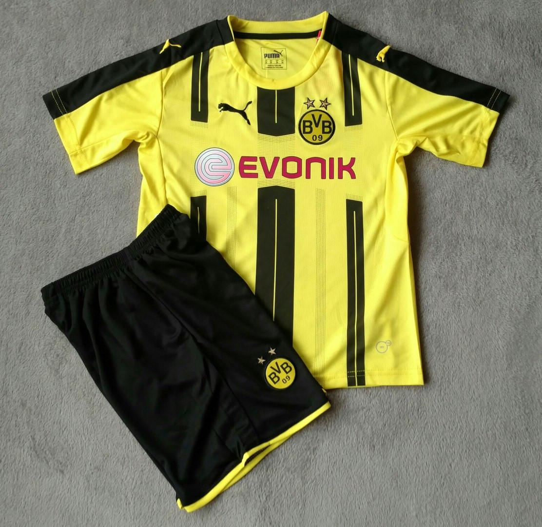 Детская футбольная форма Боруссия желтая сезон 16-17