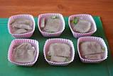 Силиконовая форма для выпечки и желе Кекс цветок 6 ш т на листе , 24*16*4см, фото 4