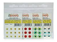 Глаза STONFO для приманок 5 мм желтые