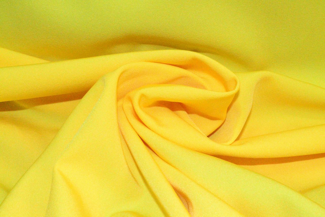 Костюмная ткань Мадонна желтая