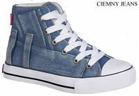 Стильные, джинсовые высокие кеды American club аля Converse для женщин и подростков р.36,37,39,40 темно-синие