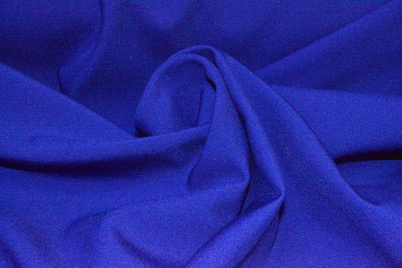 Костюмная ткань Мадонна электро синий