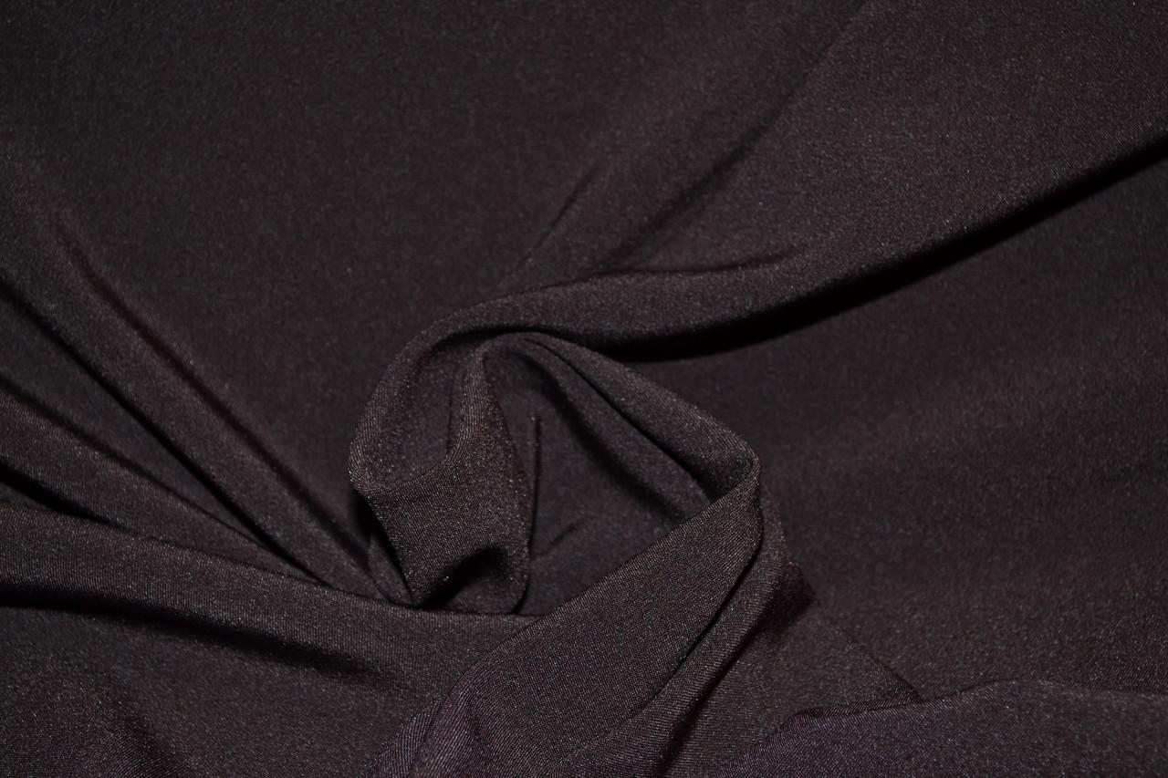 Костюмная ткань Мадонна коричневая