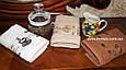 """Набор махровых кухонных полотенец """"Кофе"""" 30*50 см PHILIPPUS 3 шт,и Турция, фото 2"""