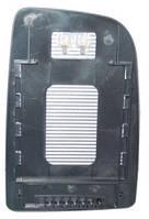 Вкладыш зеркала прав. с обогр. выпукл. верхн. квадратный крепеж Volkswagen Crafter 2006-