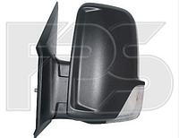 Зеркало прав. эл. с обогр. выпукл. 6 PIN +УК. пов. -подсвет SHORT ARM без кабеля Volkswagen Crafter 2006-